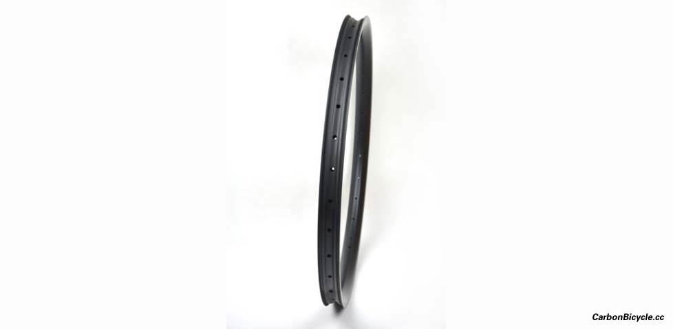 [Downhill] hookless carbon rim (width 40mm/depth 32mm) for mountain bike DH, tubeless compatible