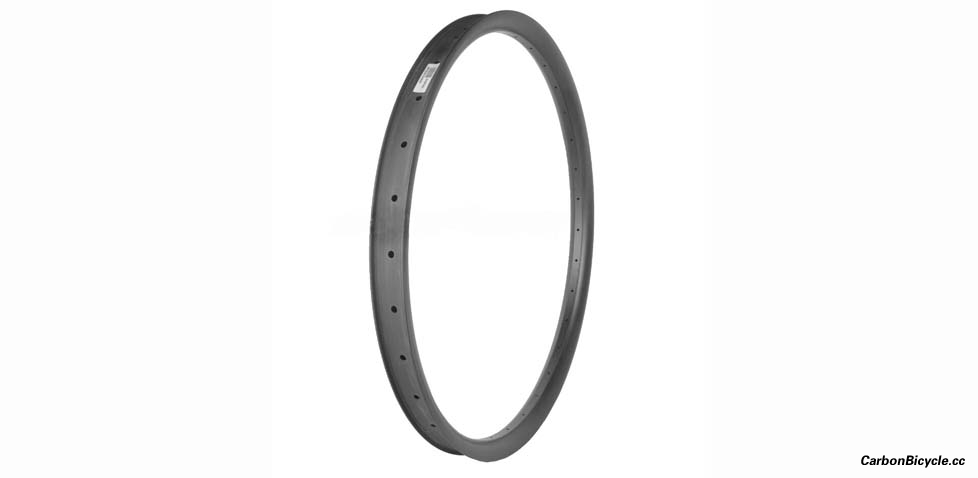 Hookless 29er / 27.5er MTB 42mm wide TRAIL/ENDURO(AM) carbon rims tubeless compatible
