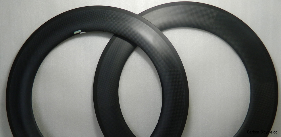 wider 700C 88mm depth tubular carbon rim 23mm wide