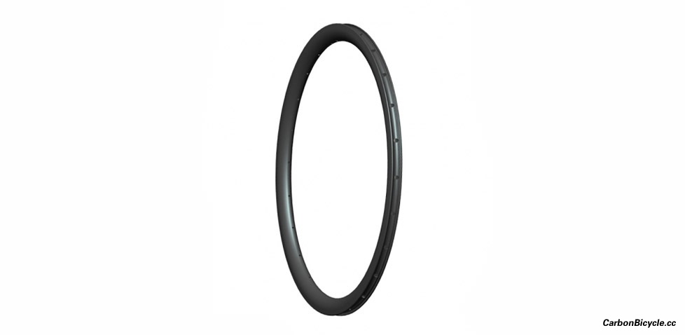 [NEW]Asymmetric Road disc CX Carbon Rims 38mm depth Clincher